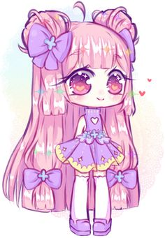 Art trade with MissZas Thank you for art trading with me! [AT] MissZas Dibujos Anime Chibi, Cute Anime Chibi, Kawaii Chibi, Kawaii Art, Chibi Characters, Cute Cartoon Characters, Cute Kawaii Drawings, Chibi Girl, Manga Drawing