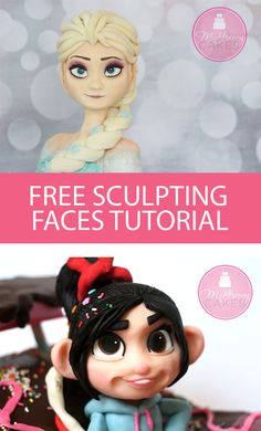 Free sculpting faces cake tutorial by McGreevy Cakes!