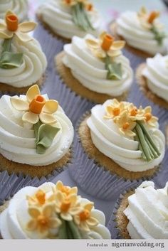 Wedding cupcakes | Nigerian wedding cupcake ideas 6 |