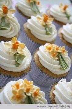 Wedding cupcakes | Nigerian wedding cupcake ideas 6 |