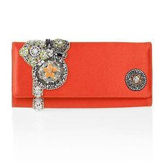 Oscar de la Renta Embroidered Clutch - bags - We're Obsessed - Fashion - Instyle.com