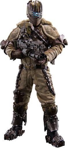 Isaac Clarke Snow Suit version Sixth Scale Figure