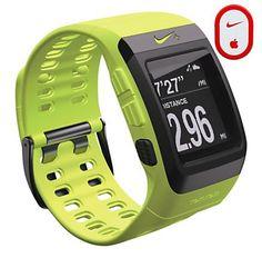 Nike+ SportWatch GPS with Sensor.