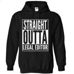 Legal Editor - #college hoodies #cool shirt. I WANT THIS => https://www.sunfrog.com/LifeStyle/Legal-Editor-9598-Black-Hoodie.html?60505