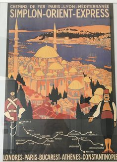 Travel Ads, New Travel, Retro Posters, Vintage Travel Posters, Party Vintage, Underground Lines, Simplon Orient Express, British Rail, Engineer