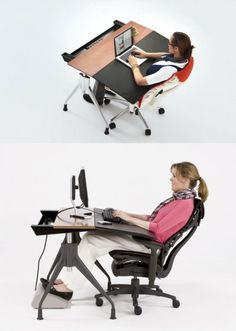 Do you remember how clunky office desks used to be? Outside of a few bespoke exceptions, the paper-and-pencil age offered only two primary choices: tankers tha