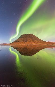 ~~Wonders of Nature ~ aurora borealis by Christian Bonzi~~