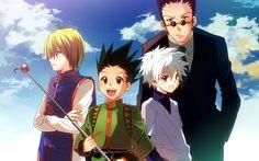 Kurapika, Gon, Killua and Leorio; Hunter x Hunter