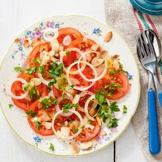 Spaanse tomatenpeterseliesalade Productfoto ID Shot 560x560
