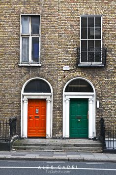 Dublin, Ireland I'm going to paint every door in my house a different color bc of this