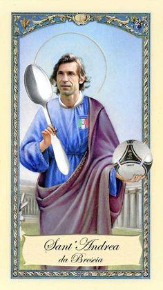 Sant' Andrea Pirlo ...e così sia!