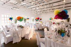 Wedding Breakfast room at Fazeley Studios