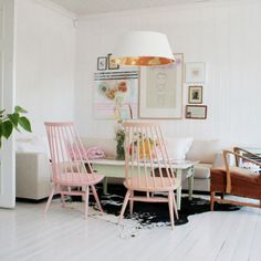 9 Downright Modern Ways to Decorate With Pastels