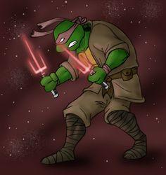Jedi Raph by Kobb on deviantART