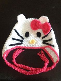 Hello Kitty Cat Beanie
