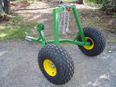 (home made?) ATV Log Hauler - MyTractorForum.com - The Friendliest Tractor Forum and Best Place for Tractor Information