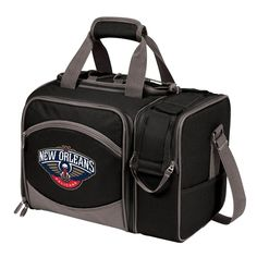 Picnic Time New Orleans Pelicans Insulated Picnic Cooler Tote, Black