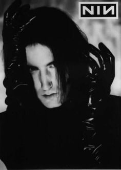 Trent Reznor. Had this poster on my bedroom wall in high school.