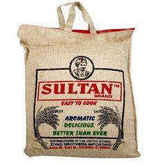 Sultan Basmati Rice 10lbs.