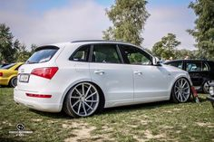 Audi Q5 - Vossen CVT Vw Wagon, Audi Wagon, Sexy Cars, Hot Cars, Q5 Audi, Auto Wheels, Vossen Wheels, Bmw X5, Custom Cars