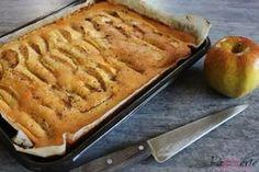 Een klassieker: Appelcake! Ik maak hem het liefste als plaatcake, maar in een gewone cakevorm kan natuurlijk ook. Appelcake is en blijft hier favoriet!