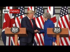 Donald Trump says he refused to meet with Labour leader Jeremy Corbyn and called the protests in London 'fake news'. He refused a meeting with Jeremy Corbyn . London Protest, Jeremy Corbyn, Sky News, God Bless America, Christian Faith, Gods Love, History, Usa, Historia