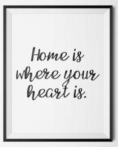 http://etsy.me/2jgqWde Never forget where your is! #Etsy #EtsyShop #EtsySeller #WallArt #HomeDecor #Printable #PrintableDesign #Quote #Quotes #PrintableQuote #Inspirational #Motivational #Affordable #EtsyFinds #EtsyForAll #Stampe #Prints #Decor #Home #Heart #Life