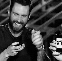 Adam levine laughing