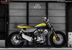 moto vélo T-shirt YAMAHA XV 750 Virago pinup Oldtimer YOUNGTIMER