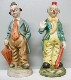 Cameo Kids Dolls Clowns Set//2 Miniature 2.5 inches NEW! 17