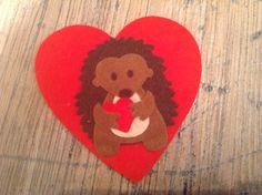 Valentijn egel