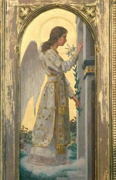 The Miracles of Archangel Gabriel by Doreen Virtue Seraph Angel, Angel Artwork, Archangel Gabriel, Archangel Raphael, Angel Pictures, Angels Among Us, Angel Cards, Angels In Heaven, Guardian Angels