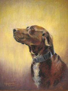 pastel portrait commission- finalist in the Richeson online pastel exhibition 2011. 'Vicky'.  25 x 19 inches.