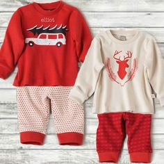 Personalized holiday long sleeve t's from Hallmark Baby - sweetly perfect when you add kiddo's name or initials! Available in baby and toddler sizes exclusively from HallmarkBaby.com