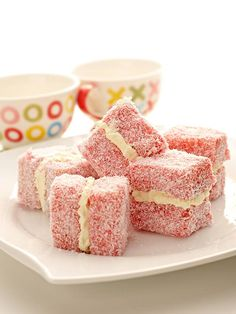 Aeroplane Jelly Lamingtons - These are Delicious! Jelly Recipes, Cake Mix Recipes, Frosting Recipes, Sweet Recipes, Snack Recipes, Dessert Recipes, Snacks, Aussie Food, Australian Food