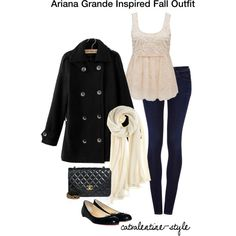"""""""Ariana Grande Winter Inspired Outfit"""" by nubslife on Polyvore"""