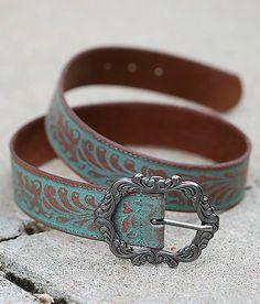 Adorno en la cintura Buckle gürtelschliesse ornament turquesa