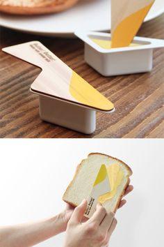 Very clever packaging design here. It makes me hungry for toast! Clever Packaging, Food Packaging Design, Packaging Design Inspiration, Brand Packaging, Branding Design, Coffee Packaging, Bottle Packaging, Corporate Design, Identity Branding