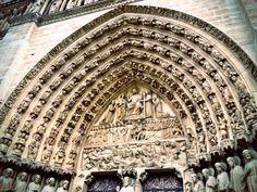 Puerta del Juicio Final, Notre Dame (Paris - France)