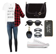 """""""Untitled #31"""" by embozant on Polyvore featuring Zoe Karssen, AG Adriano Goldschmied, Converse, Eva Fehren and Roberto Cavalli"""