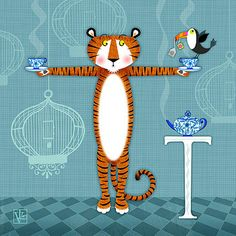 T is for Tiger by Valerie Drake Lesiak