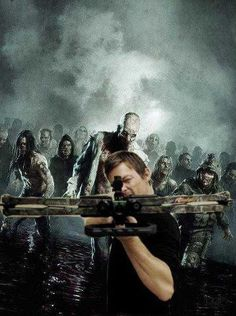 Norman Reedus (Daryl Dixon on The Walking Dead.). Here we come