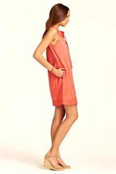 Tilly Dupioni Dress::Calypso St. Barth