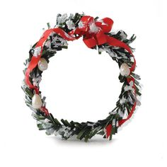 Miniature Snowy Pearl Wreath  http://www.ecrafty.com/c-595-glass-pearls.aspx