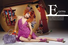 Vogue Accessory Surreale issue by Lucia Giacani, via Behance