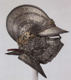 Burgonet made for Henry, the Dauphin of France, c. 1540, by the Milanese armorer Francesco Negroli.