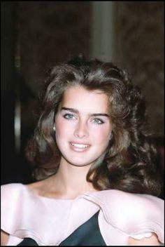 Young Brooke Shields Hair | Our new weekly feature takes a look back at sixty years of beauty ...