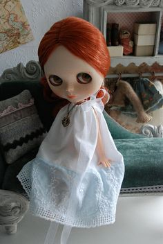 Working on some new nightgowns. My chaise from Abi is my most favorite thing ever. | Flickr : partage de photos !