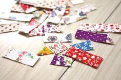 【捨てないで!】たった1cmのハギレでできる、簡単かわいい布シールの作り方 - DIY・レシピ | tetote-note(テトテノート)