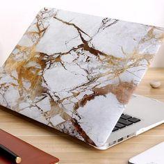 Macbook Air Pro, Macbook Pro 13 Case, Newest Macbook Pro, Apple Macbook Pro, Apple Laptop, Macbook Pro Accessories, Desktop Accessories, Marble Laptop Case, Marble Case